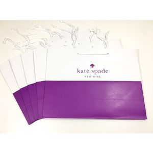🆕 Listing!  Kate Spade | Set of 5 Shopping Bags